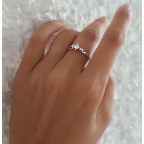 Solitaire Diamant Griffe Weston - Bague Fiancaille en Platine | Gemperles