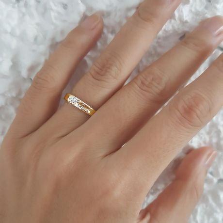 Alliance fleur d'or jaune et diamant - Alliance Femme | Carenn