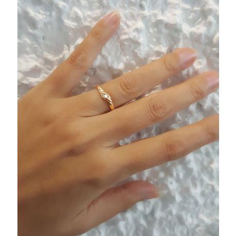 Fede Nuziale per Donna Joyce - Platino e Diamante Solitario
