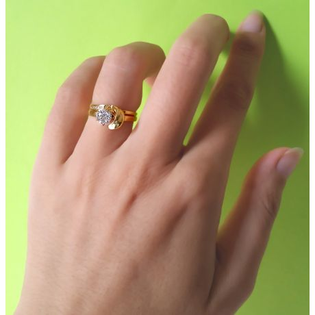 Bague Louis Aragon - Nous Dormirons Ensemble - Or Jaune 18cts | Gemperles