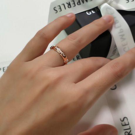 Alliance en or rose 18 carats - Alliance diamants pour Femme | Constance