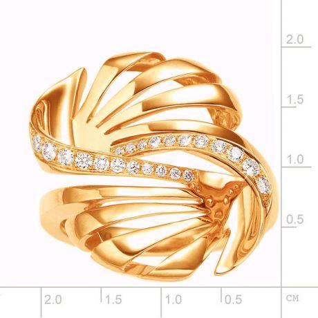 Anello da Donna. Oro giallo 18 carati & Diamanti VS/G | Neptune