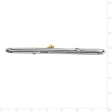 Ciondolo -  Due Ori 6.80gr - Diamanti 0.173ct