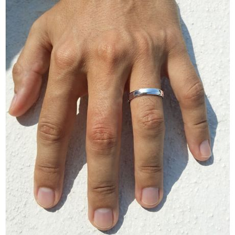 Fedi Nuziali Madeline & Horizon - Fedine in Oro Bianco e Diamante