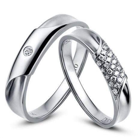 Alliance Homme - Or blanc - Diamant 0.045ct | Lucas