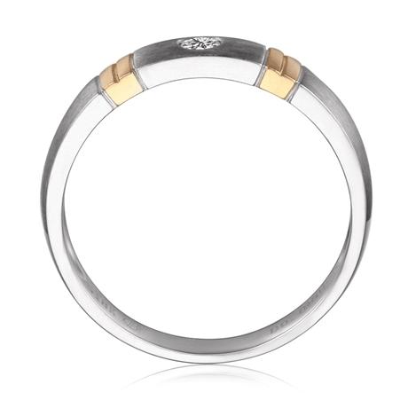 Fede per Donna - 2 Ori 2.85gr - Diamante | Garbo