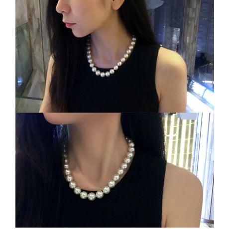 Collana Eleonora - Perle Coltivate Bianche dei Mari del Sud