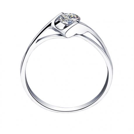 Solitaire Diamant 0.20 Carat - Victor Hugo, A Jeanne Platine | Gemperles