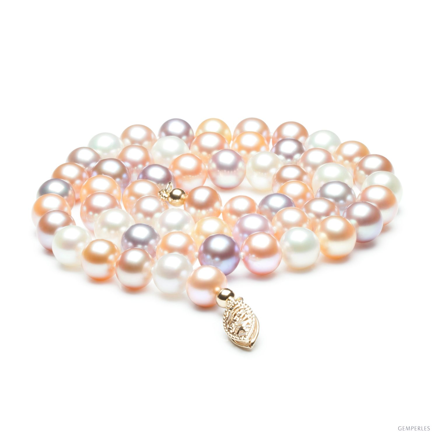 collier perle precieuse