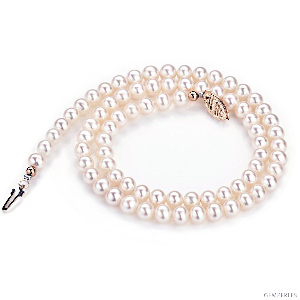 - C Charmant Blanc 20 mm shell pearl perles rondes environ 45.72 cm collier 18 In