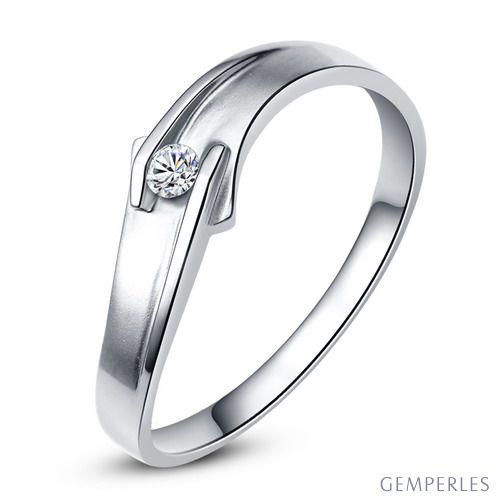 Alliance diamant platine - Le diamant de Colleen