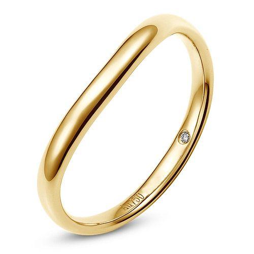Alliance pour Homme - Or jaune & Diamant | Brad