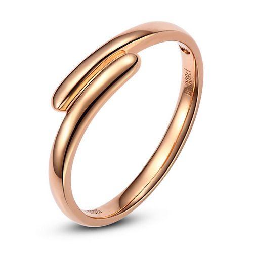 Alliance de mariage Femme. Or rose. Diamant   Mathilde