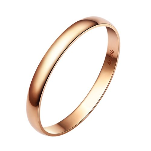 Alliance Mariage - Alliance Homme - Anneau Or Rose 18 carats   Gemperles