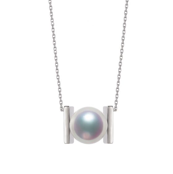 Pendentif Otohiko. Une Création Originale avec sa perle Akoya I Gemperles