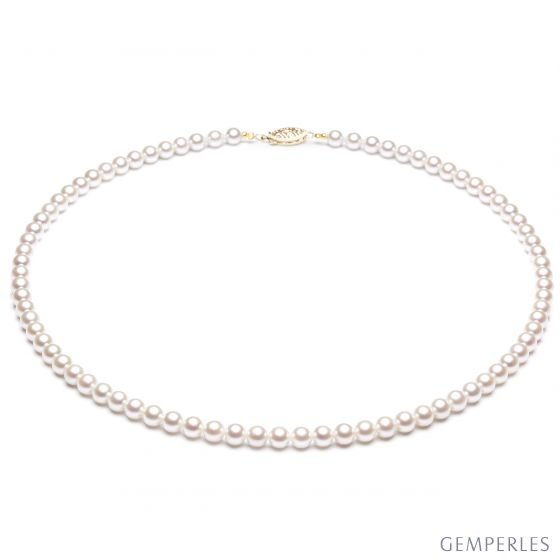 Collier de perles Akoya - 4.5/5mm - AAA