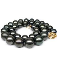 Collana Napoléon - Perle Coltivate Nere di Tahiti