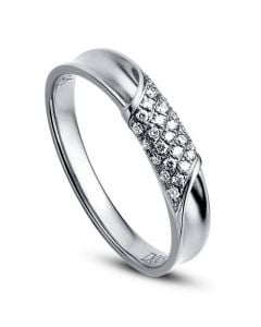 Alliance Femme - Platine - Diamants 0.105ct | Chloé