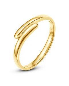 Alliance de mariage Femme. Or jaune. Diamant | Angèle