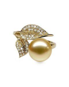 Anello Jasmin - Perla dei Mari del Sud Gold e Oro Giallo