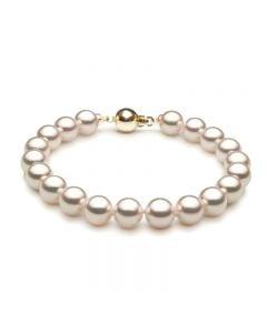Bracelet perles Akoya 7.5/8mm - Perle fine du Japon