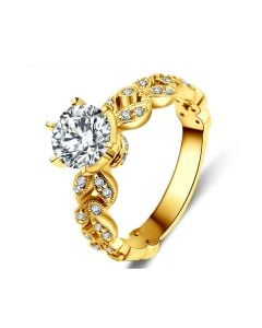 Bague Arthur Rimbaud - Sensation - Or Jaune & Diamants | Gemperles