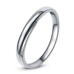 Alliance bijou mariage - Alliance Femme - Platine - Diamant