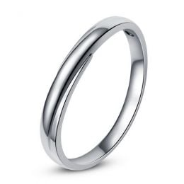 Alliance bijou mariage - Alliance Homme - Platine - Diamant