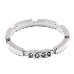 Alliance Anneau de Mariage - Alliance Femme Platine et Diamants | Gemperles