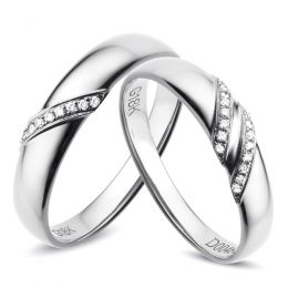 Alliances Platine - Diamants