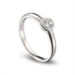 Alliance Femme. Platine. Diamant 0.30ct | Galina