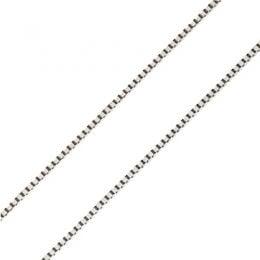 Catenina Maglia Veneziana oro bianco 18kt | 40cm