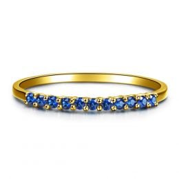 Anneau Or jaune 18 carats, Saphir I Pretty little stars I Gemperles