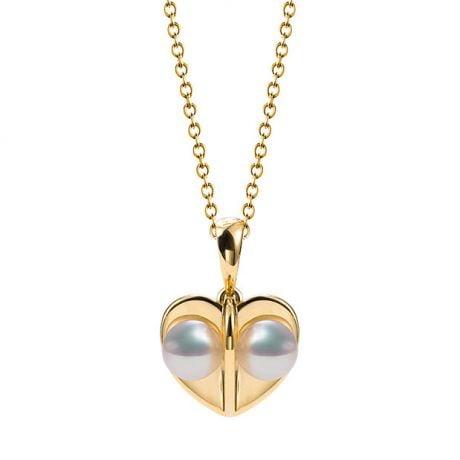 Pendentif trèfle 4 perles