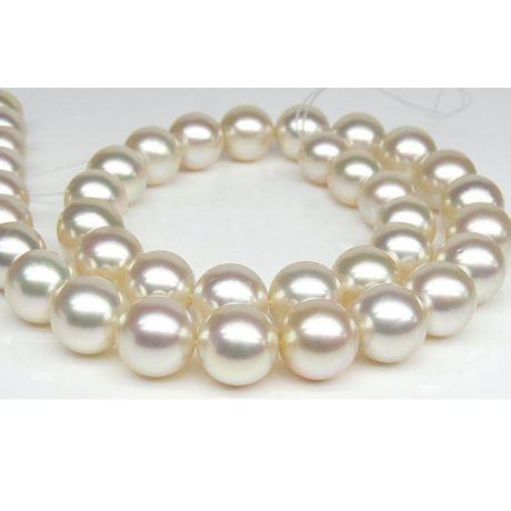 Collana Castille - Perle Coltivate Bianche dei Mari del Sud