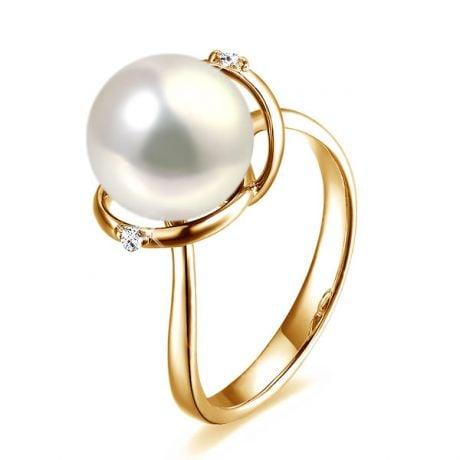 Anello La Joconde - Oro Giallo 18kt e Perla d'Acqua Dolce