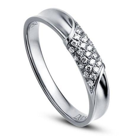 Alliance Femme - Or blanc - Diamants 0.105ct   Chloé