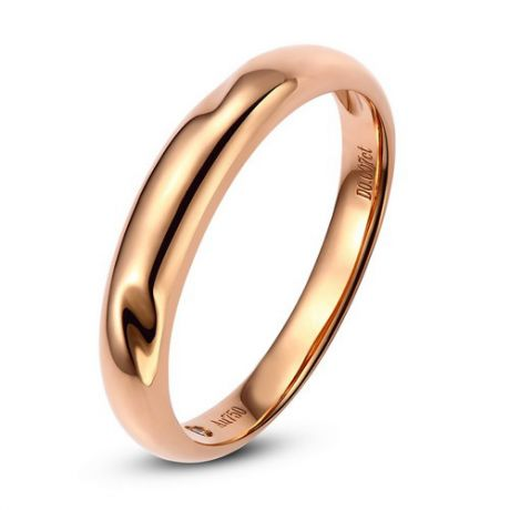 Alliance en or ronde - Alliance Femme Or rose - Diamant