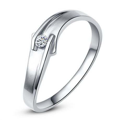Alliance diamant or blanc - Le diamant de Colleen