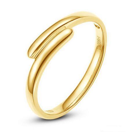 Fede Nuziale Nite per Uomo - Fedina in Oro Giallo & Diamante