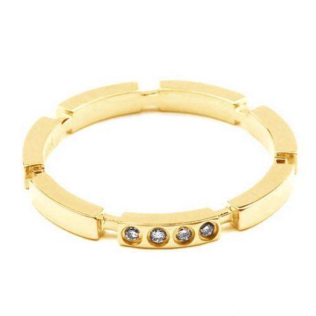 Fede Nuziale Donna Capucine - Oro Giallo & Diamanti | Gemperles