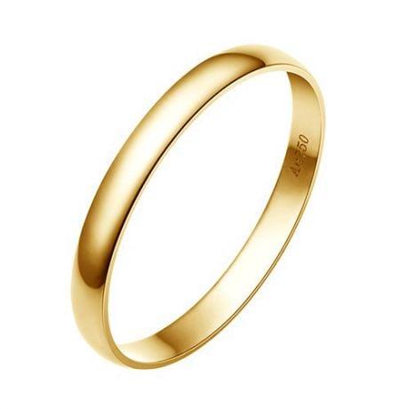 Fede Nuziale Classica Allan Oro Giallo - Matrimonio Uomo | Gemperles