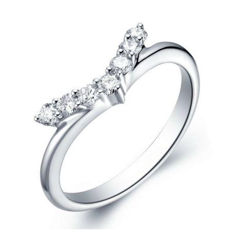 Anello Donna Freedom - Platino & Diamanti VS/G | Gemperles