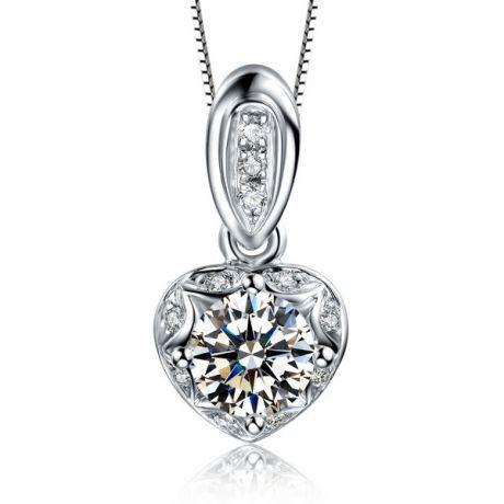Ciondolo con Diamanti in Oro bianco 18 carati. Your Best Friend