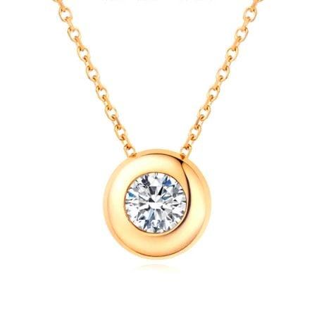 Ciondolo Punto Luce Kili - Oro Giallo 18ct & Diamante | Gemperles
