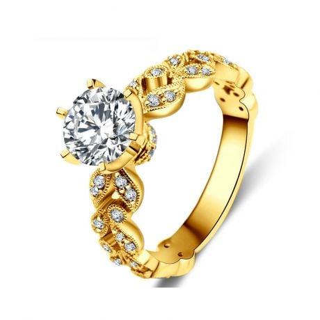 Bague Arthur Rimbaud - Sensation - Or Jaune & Diamants | Gemperles