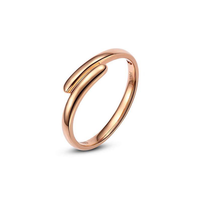 Alliance de mariage Femme. Or rose. Diamant | Mathilde