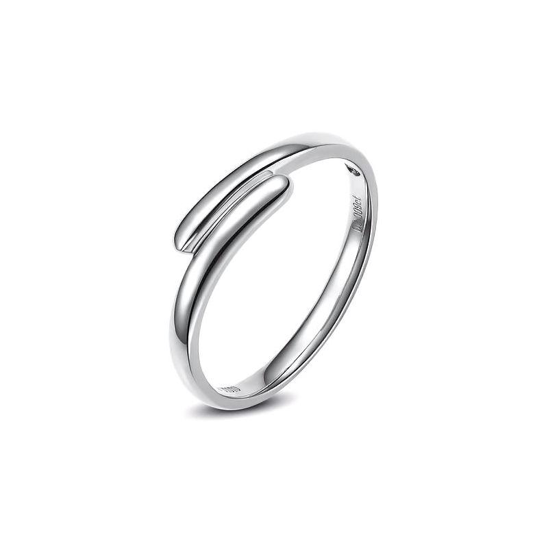 Alliance Homme. Or blanc. Diamant 0.007ct | Samson