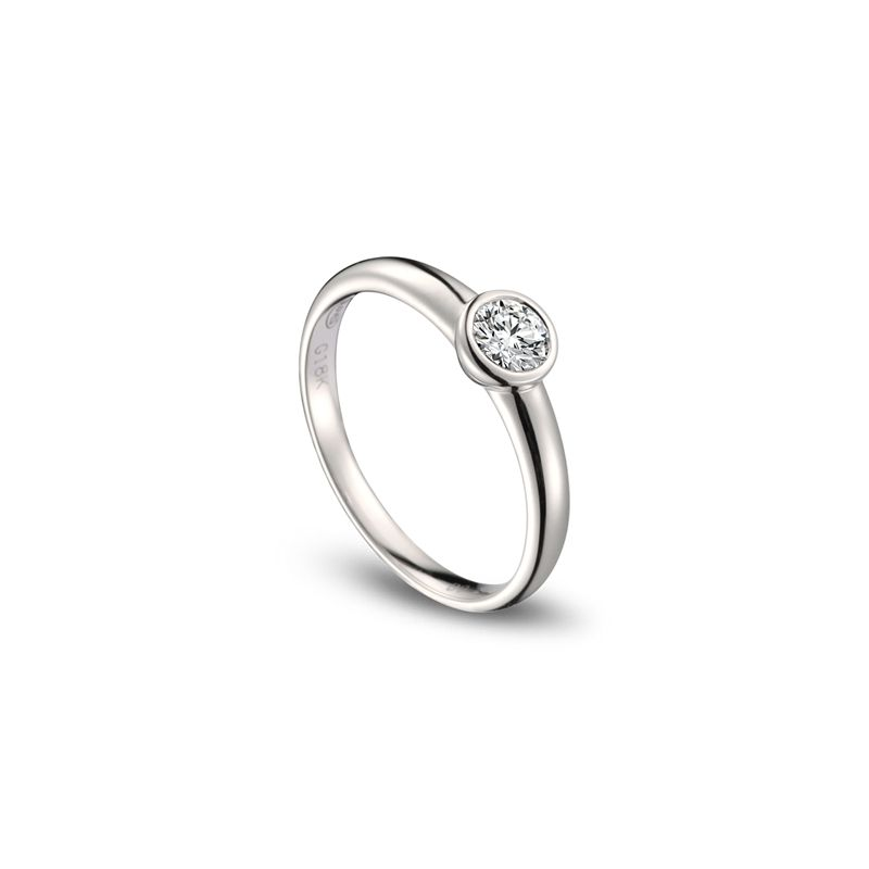 Alliance Femme. Platine. Diamant 0.30ct | Galina
