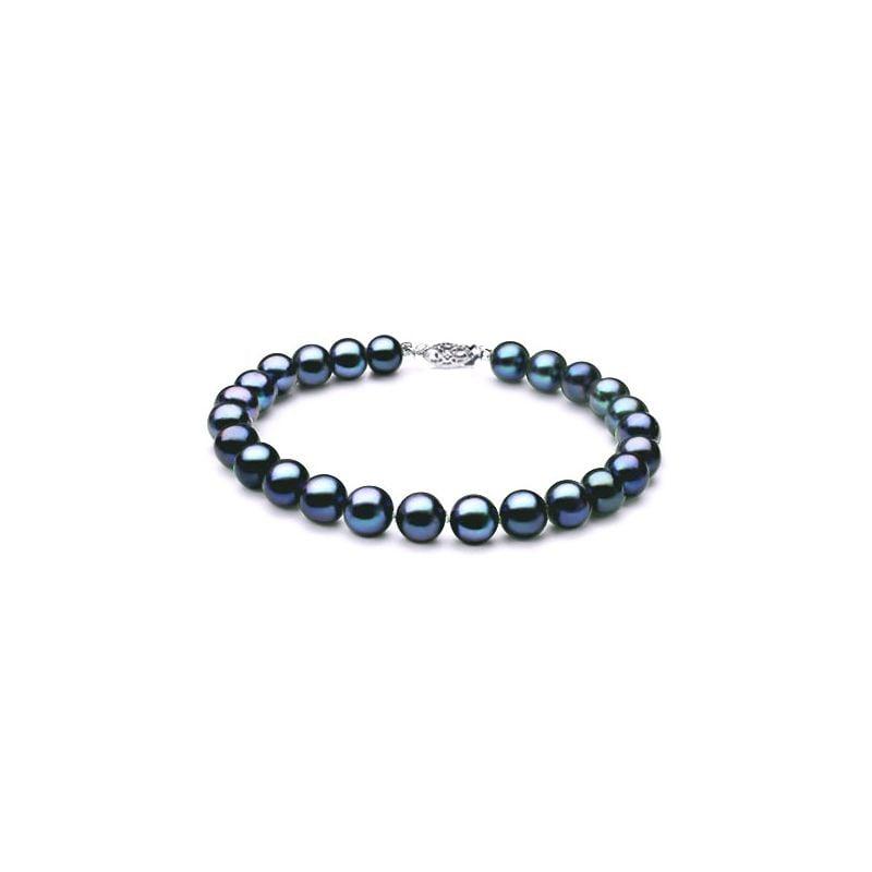 Bracelet Perle Noire 7.5/8mm, AAA
